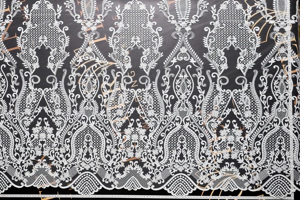 Гипюр для платья ткань купить j 7217
